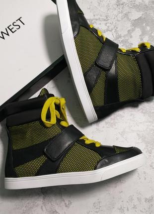 Nine west оригинал сникерсы кроссовки хайтопы высокие кеды бренд из сша