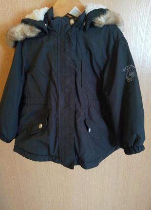 Деми куртка парка для девочек