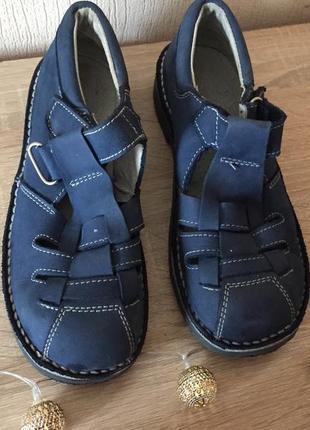 Детские кожаные весенние/осенние ботинки