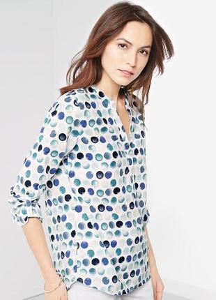 Блуза рубашка размер 48-50  наш tchibo тсм