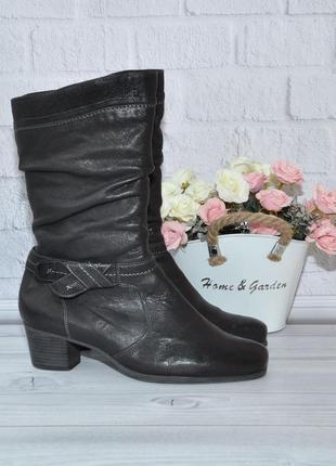 Durea 40-41р 26,5см голландия кожаные ботинки