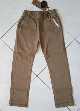 Джинсы (котоновые брюки) для мальчика размер 128, grace (венгрия)