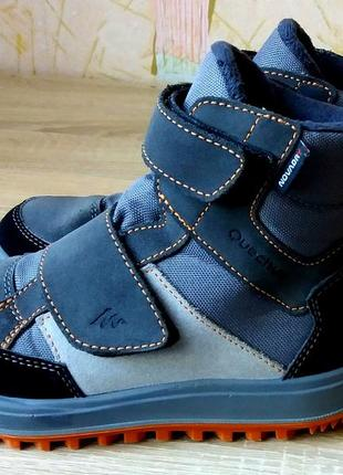 Крутые ботинки quechua,29 размер,румыния.