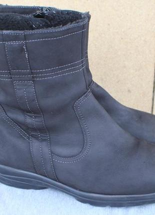 Зимние ботинки semler нубук (кожа)