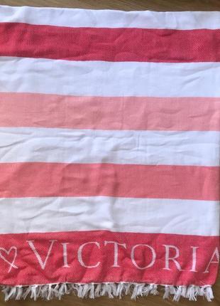 Большое пляжное полотенце victoria secret оригинал виктория сикрет3