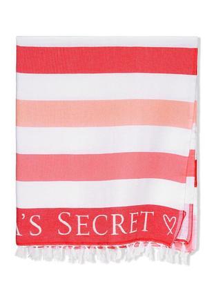 Большое пляжное полотенце victoria secret оригинал виктория сикрет