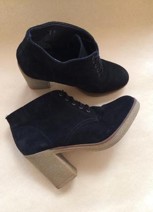 Замшевые ботинки/ботильоны espirit