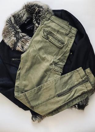 Стильные брюки-карго от h&m