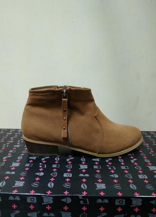 Женские ботинки демисезонные sinsay