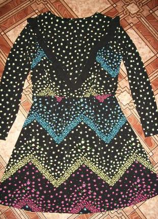 Оригинальное красивое платье 16 р