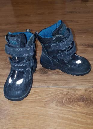 Ботинки зимние ecco 22 размер