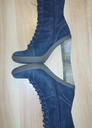 Ботинки на каблуке ecco 39 р