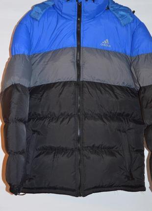 Мужской пуховик adidas winter jacket.