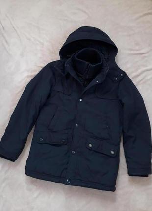 Тёплая куртка парка от espirit деми зима p.m