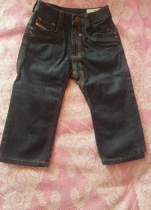 Детские джинсы dizel р-р 12 м новые