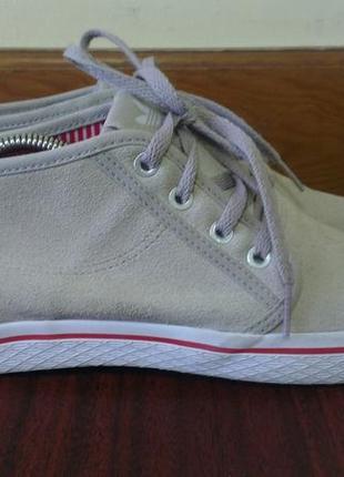 Женские оригинальные замшевые осенние кроссовки adidas, 40(25 см)