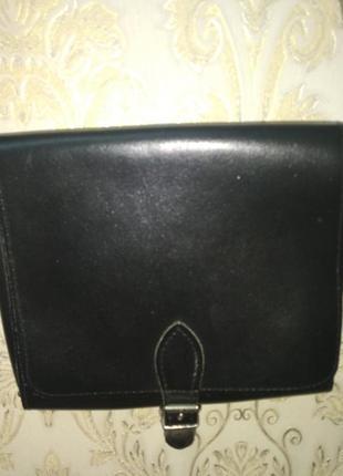 Кожаная женская сумочка genuine leather (оригинал)