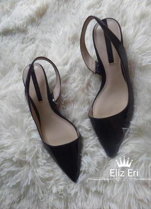 Шикарные, босоножки, туфли zara