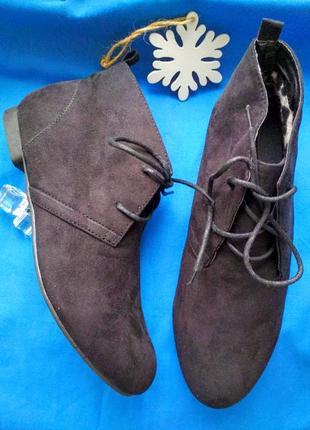 Скидка!стильные ботинки сапожки полусапожки плато plato 38р-р