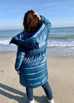Пальто парка спортивное а-ля nike модное и новое