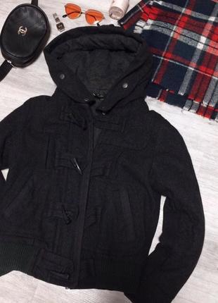 Тёплая модная куртка topshop