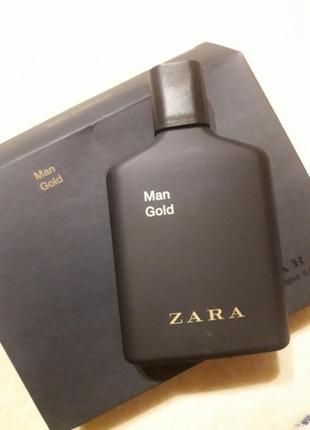 Новые zara man gold мужские парфюм из набора туалетная вода аромат духи