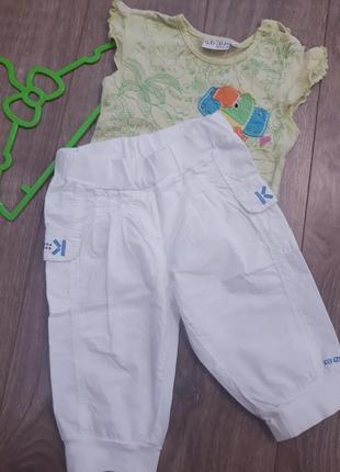 Стильные штаны укороченные, шорты kenzo kids 94 р.