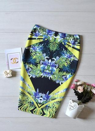 Чудова юбка карандаш в квіти miss selfridge.