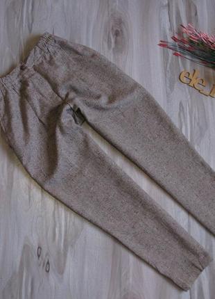 Шерстяные брюки чинос размер eur 36-38