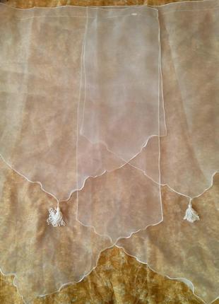 Короткие шторы. панели,тюль на большое окно 3 шт.