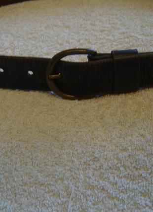 Ремень кожаный длиной 100 см