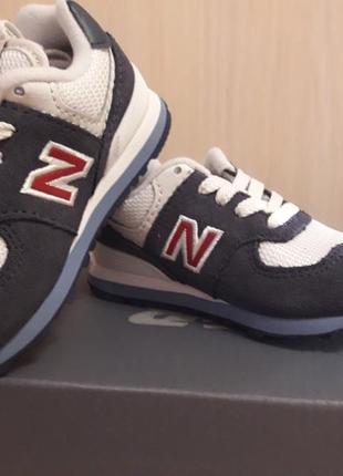 Детские кроссовки new balance, размер 21.5
