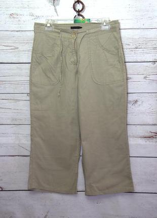 Короткие штаны /бриджи/капри с карманами