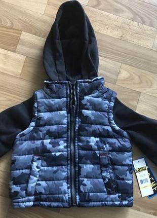 Курточка пайта жилетка для малыша 2 лет