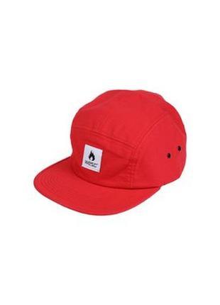 Реперка,красная кепка с прямым козырьком, кепка с надписью, шапка, бейсболка,снепбек