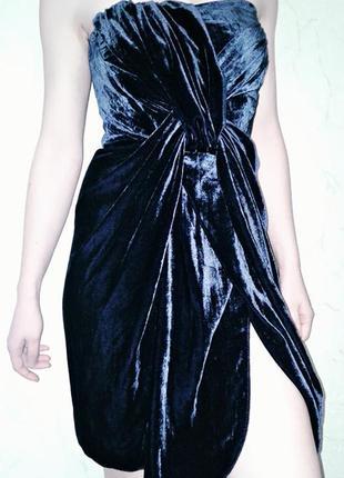 Шикарное  велюровое платье на запах и другие красивые вещи)