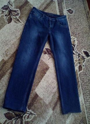 Утепленные мужские джинсы
