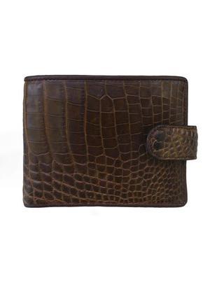 Кошелек портмоне бумажник из натуральной кожи крокодила, таиланд