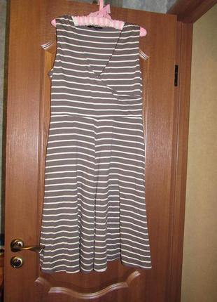 Трикотажное платье миди  с запахом на каждый день от dorothy perkins р.14 xl.