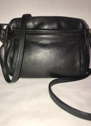Кожаная сумка через плечо proxy. стиль кросс боди.(3 отделения)