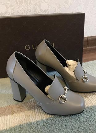 Очень красивые туфли на каблуке