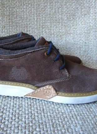 Ботинки кожанные утепленные bugatti оригинал размер 40-40.5,40.5-41
