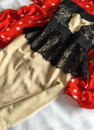 Розкішне бандажне плаття з мереживом little mistress 10/38