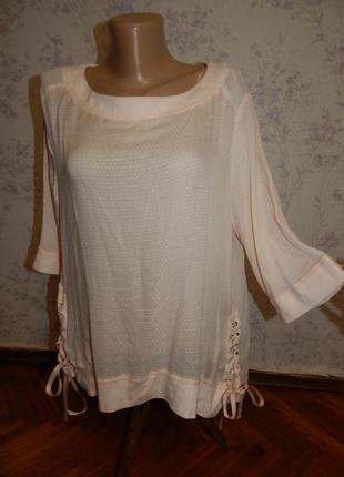 Next блузка вискозная стильная модная р16
