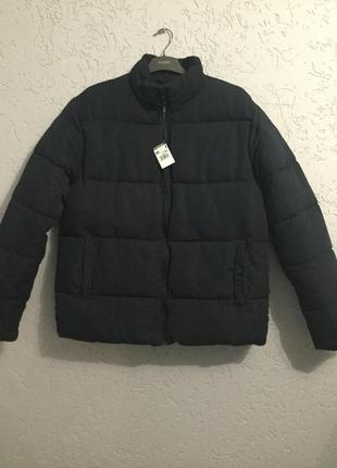 Мужская тёплая куртка пуховик на синтепоне
