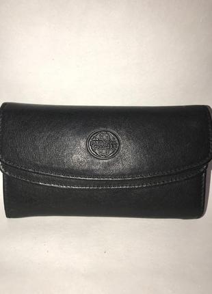 Кожаный практичный кошелёк fabretti.