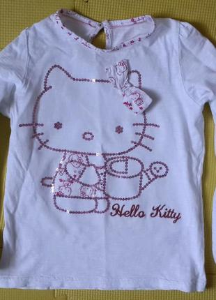 Кофта m&s hello kitty 5-6 л.