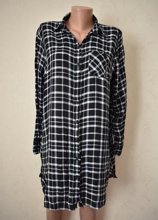 Легкое платье-рубашка f&f
