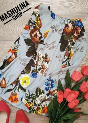 Красивейшая блузочка в цветочный принт фирмы boden