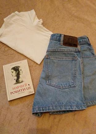 Шортики цупкий джинс